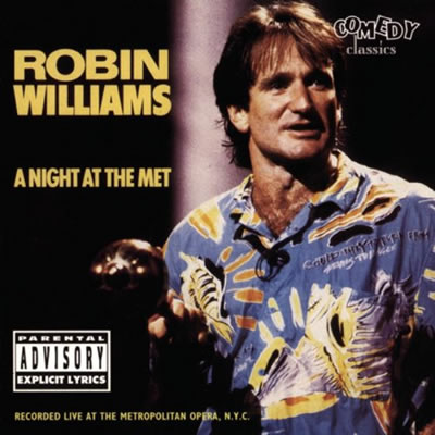 CD cover for A Night at the Met