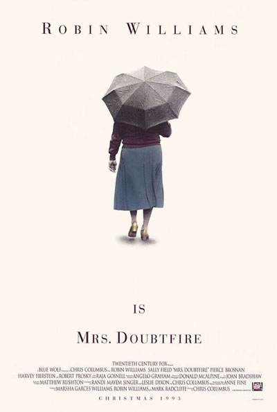 Poster for Mrs. Doubtfire