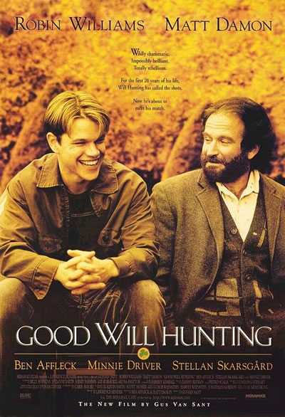 Poster for Good Will Hunting