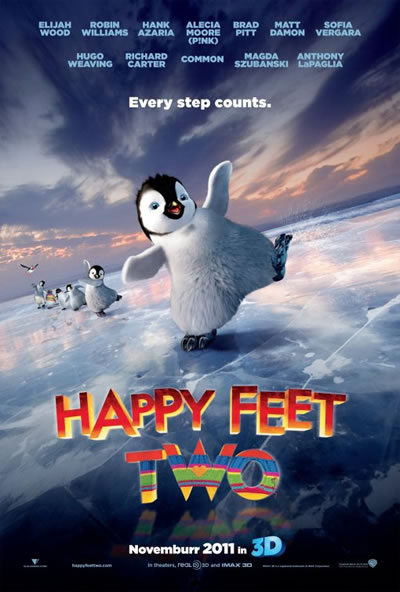 Poster for Happy Feet 2