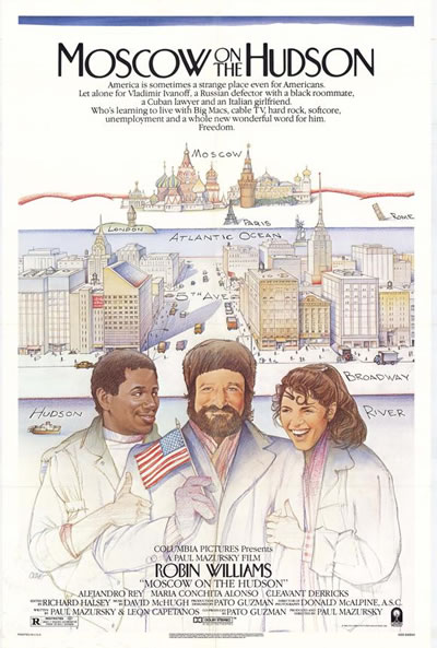 Poster for Moscow on the Hudson