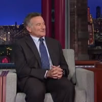 Robin on David Letterman